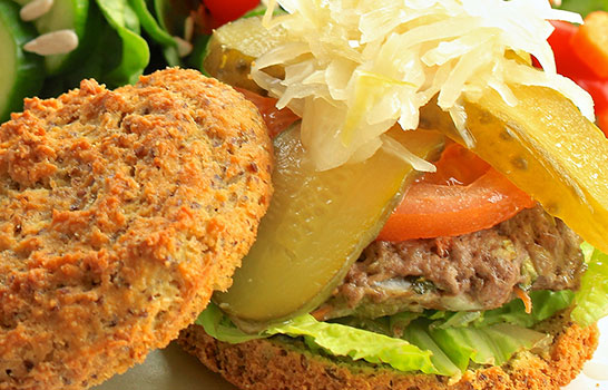 Grain-Free Hamburger Buns