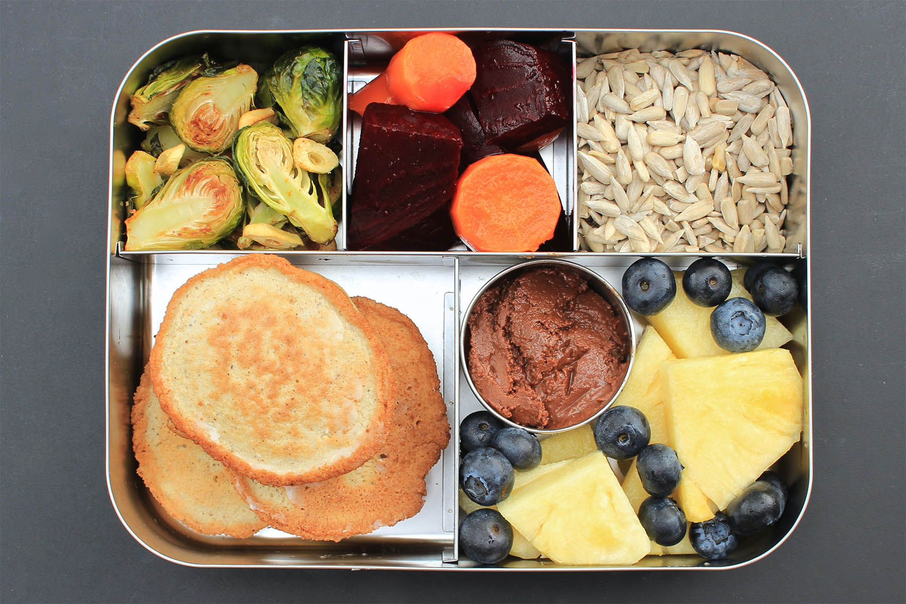Pancake Lunch Bento Box